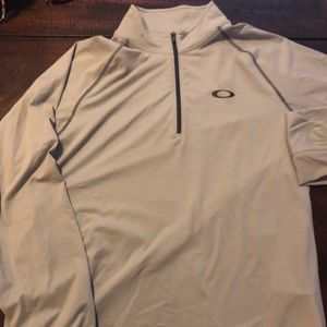 oakley men's half zip up